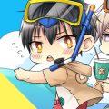 【BLCD】「真夏のバカンス」をテーマにしたミニドラマCD「男子高校生、はじめての ~Summer vacation 2018~」が9/14発売!カップルごとのミニドラマ10編全てを収録